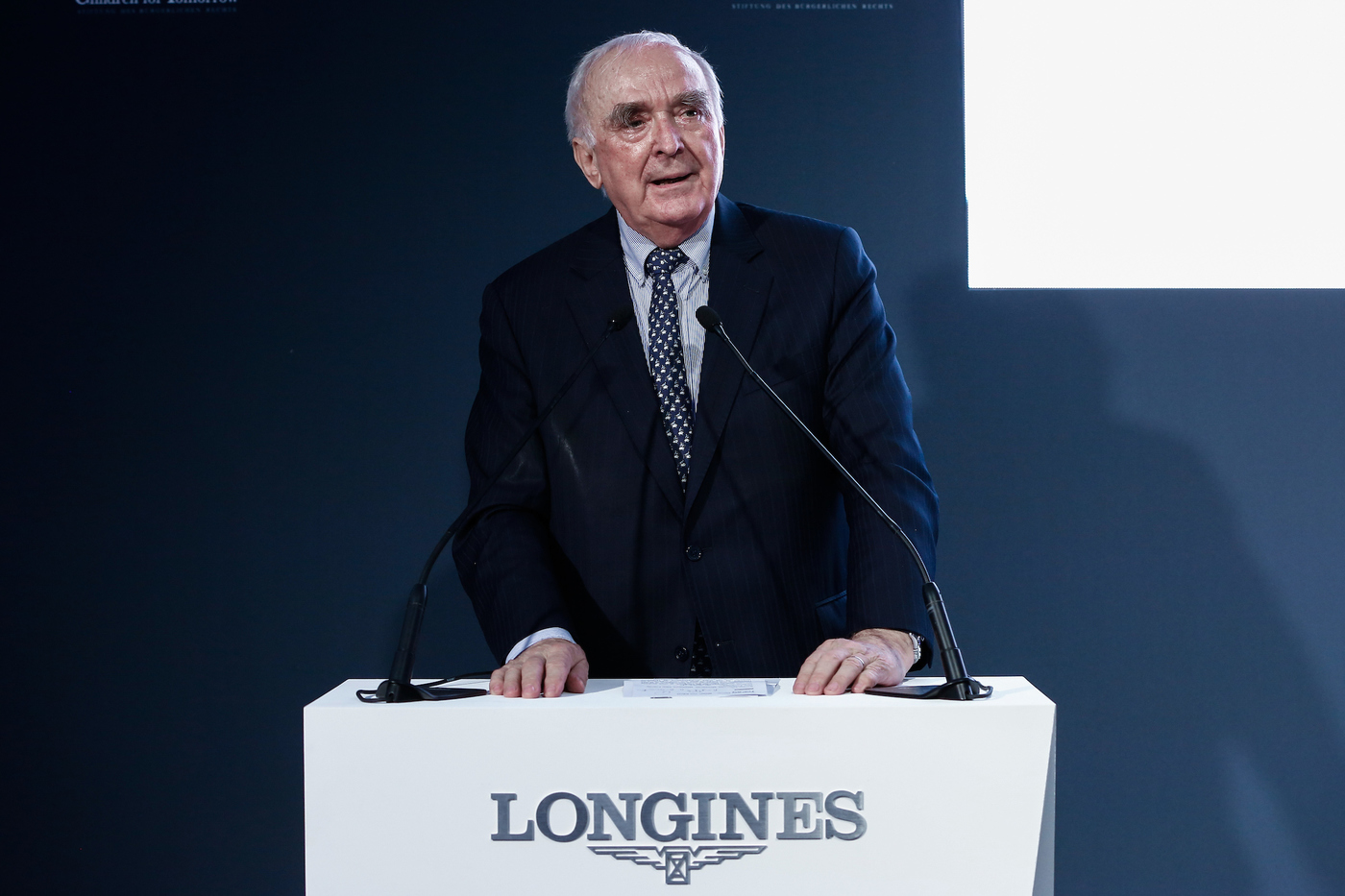 Longines Corporate Event: Longines unveils two exclusive Conquest V.H.P. models to mark ten years of its partnership with  Stefanie Graf and Andre Agassi 10