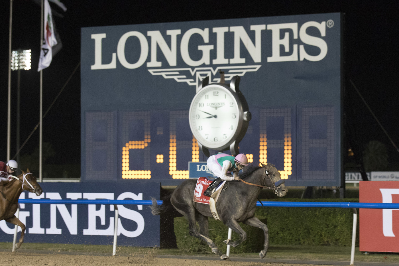 Longines Flat Racing Event: Arrogate, the 2016 Longines World's Best Racehorse, won the Dubai World Cup 2