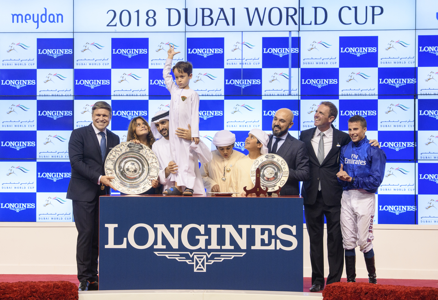 Longines Flat Racing Event: The Dubai World Cup:  Hawkbill steals the limelight in the Longines Dubai Sheema Classic race  9