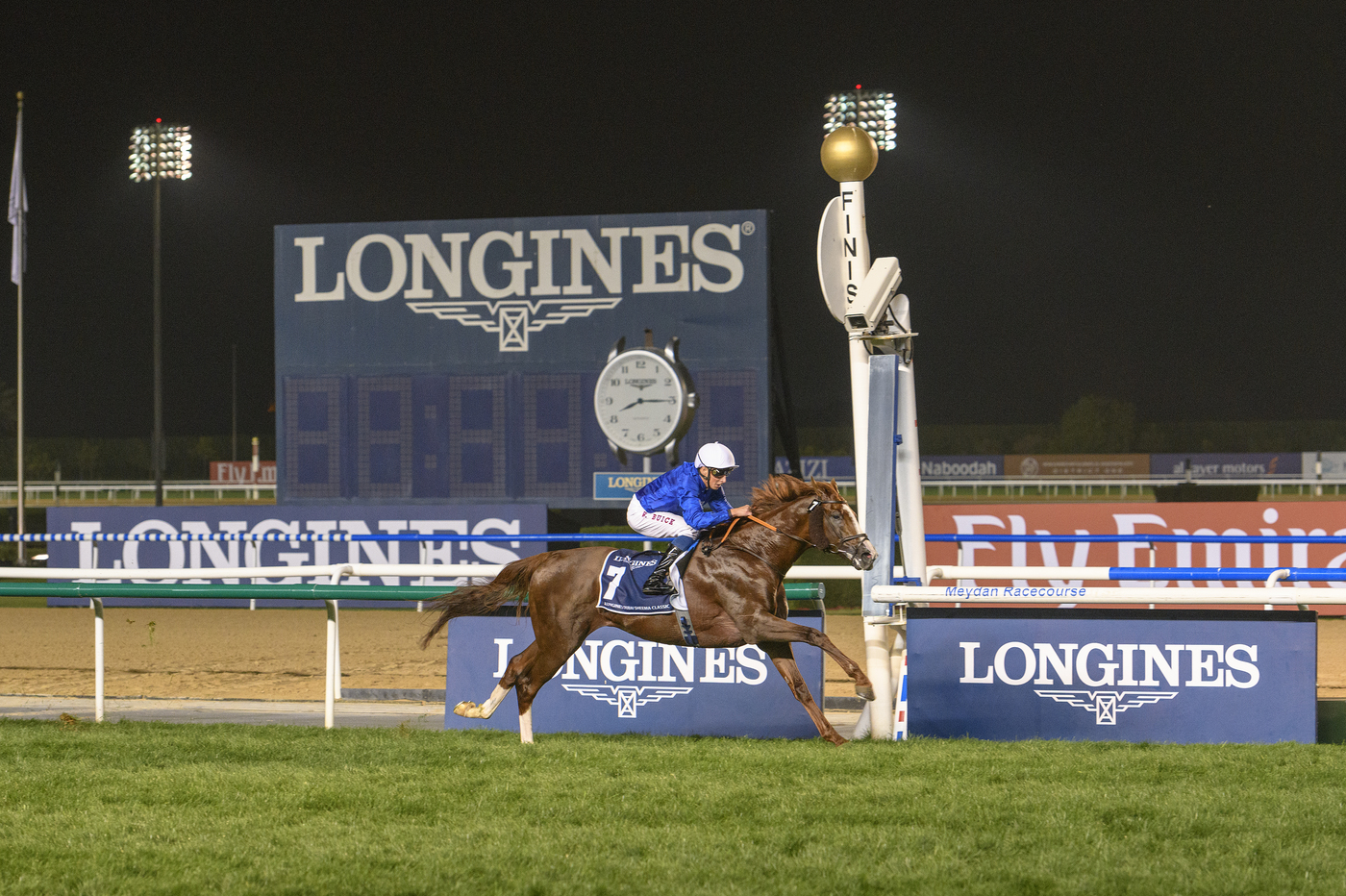 Longines Flat Racing Event: The Dubai World Cup:  Hawkbill steals the limelight in the Longines Dubai Sheema Classic race  11