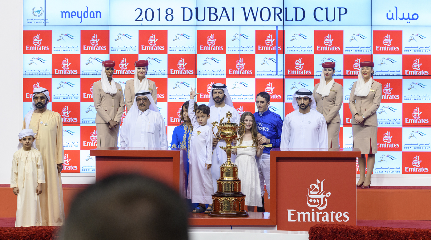 Longines Flat Racing Event: The Dubai World Cup:  Hawkbill steals the limelight in the Longines Dubai Sheema Classic race  12