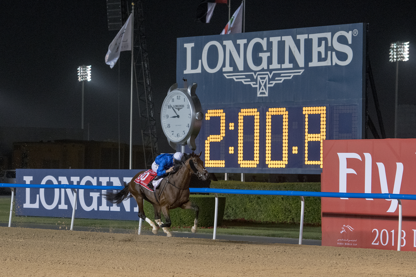 Longines Flat Racing Event: The Dubai World Cup:  Hawkbill steals the limelight in the Longines Dubai Sheema Classic race  13
