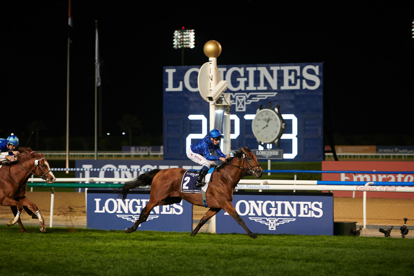 Longines Flat Racing Event: Swiss watch brand Longines honours the winners of  the Longines Dubai Sheema Classic 1