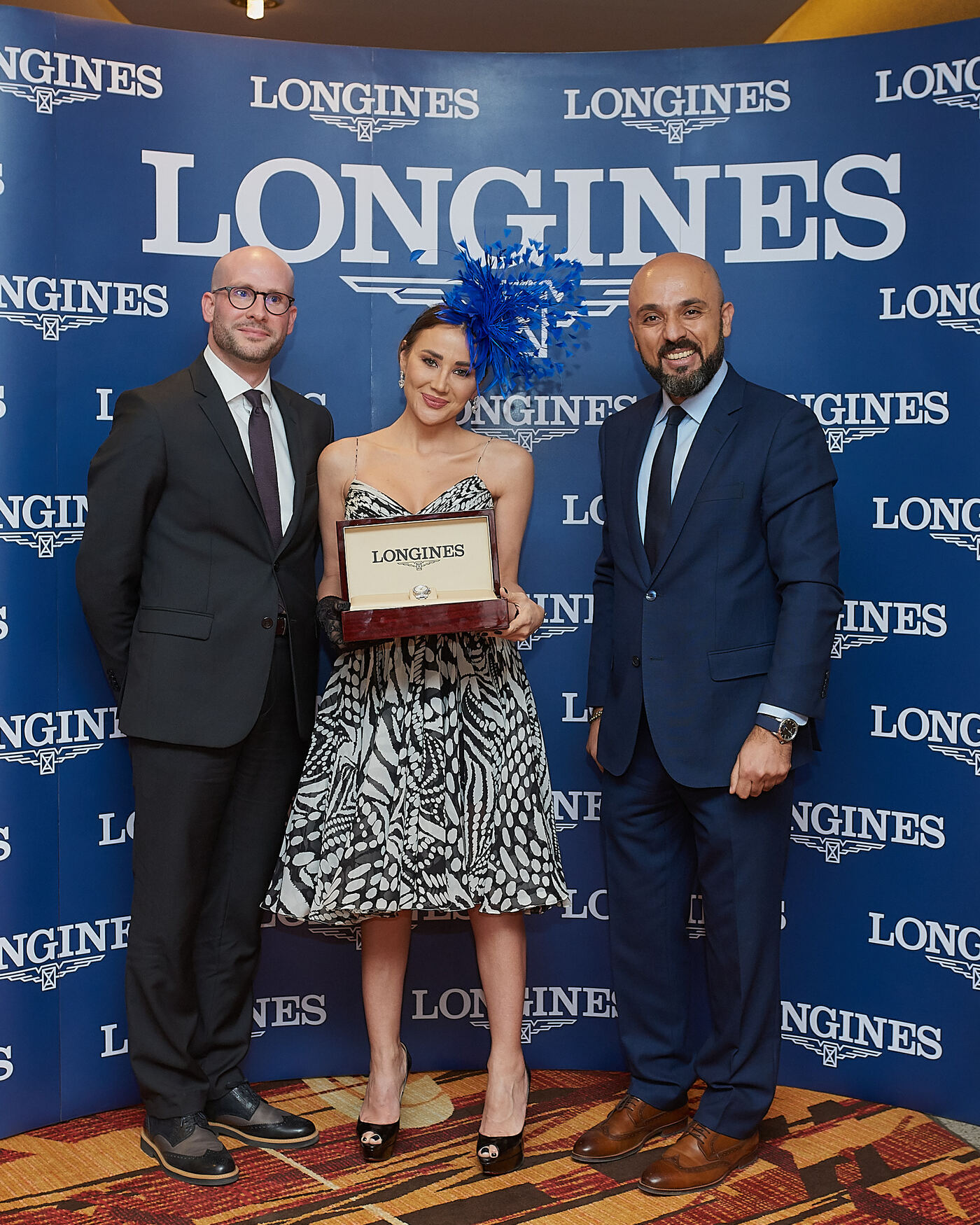 Longines Flat Racing Event: Swiss watch brand Longines honours the winners of  the Longines Dubai Sheema Classic 6