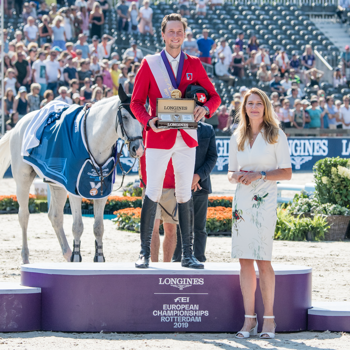 Longines Show Jumping Event: One week of captivating competitions and exceptional performances at the Longines FEI European Championships 2019 14