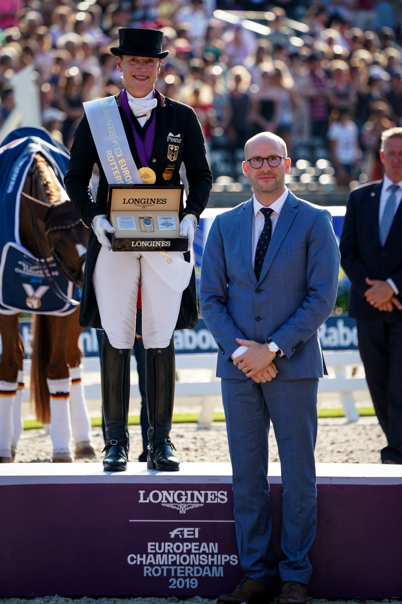 Longines Show Jumping Event: One week of captivating competitions and exceptional performances at the Longines FEI European Championships 2019 5