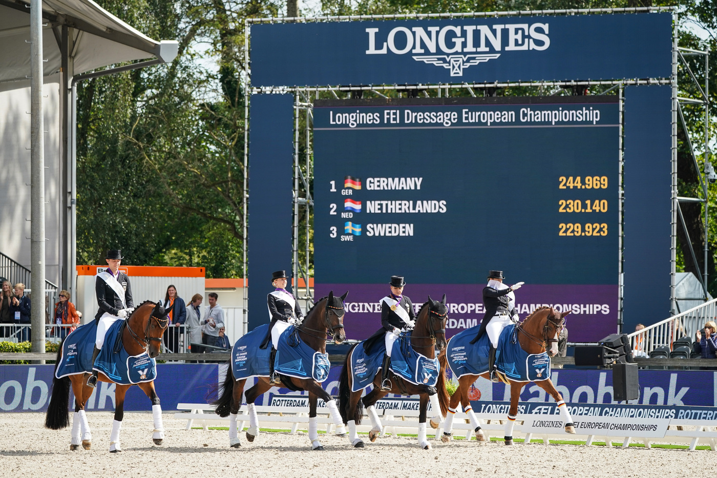 Longines Show Jumping Event: One week of captivating competitions and exceptional performances at the Longines FEI European Championships 2019 6