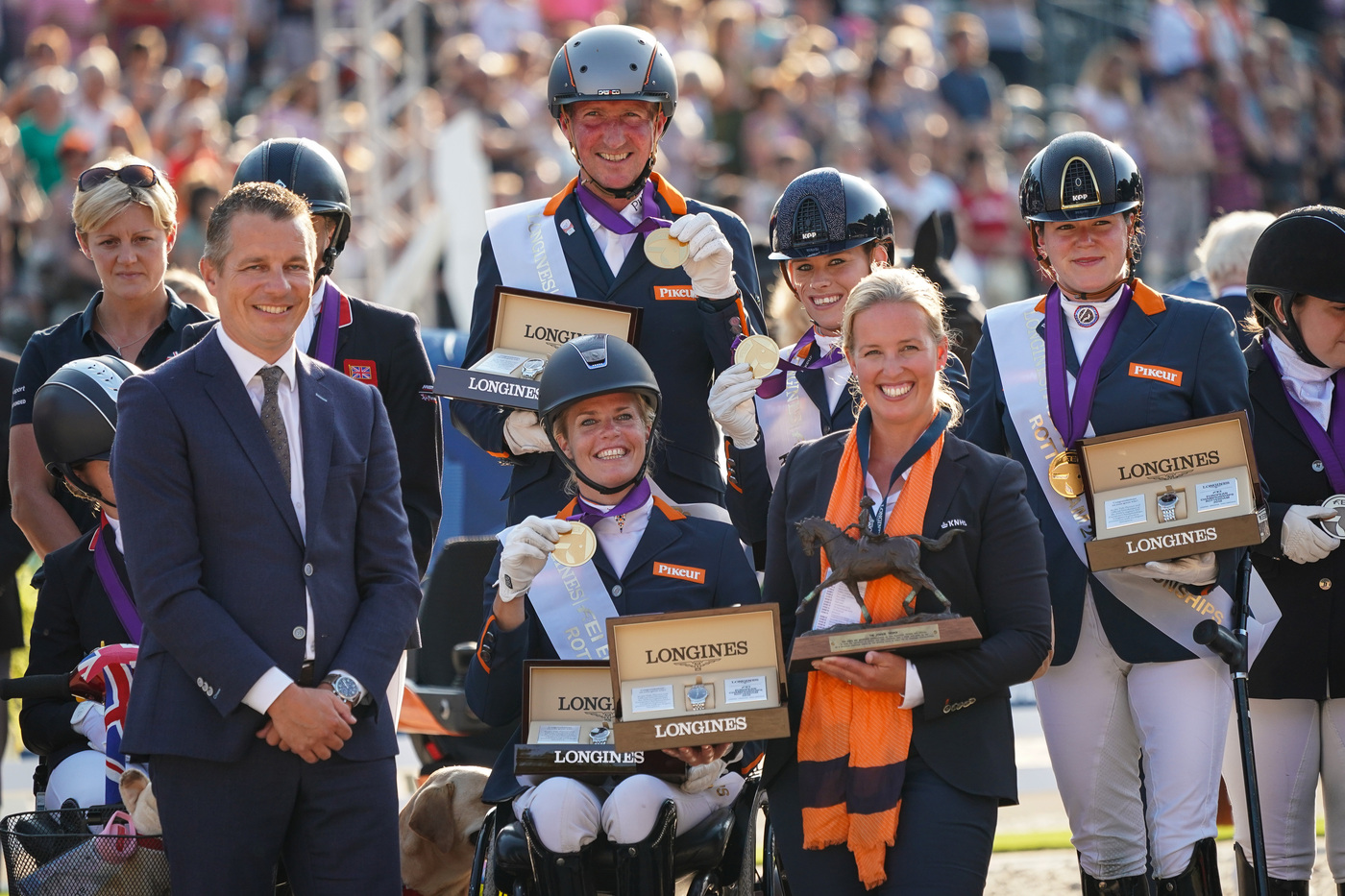 Longines Show Jumping Event: One week of captivating competitions and exceptional performances at the Longines FEI European Championships 2019 8