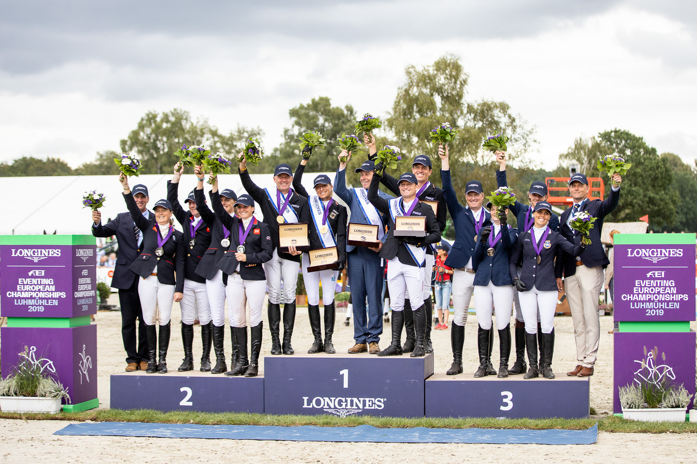 Longines Eventing Event: Team Germany claimed the 2019 Longines FEI Eventing European Championships crown in Luhmühlen 5