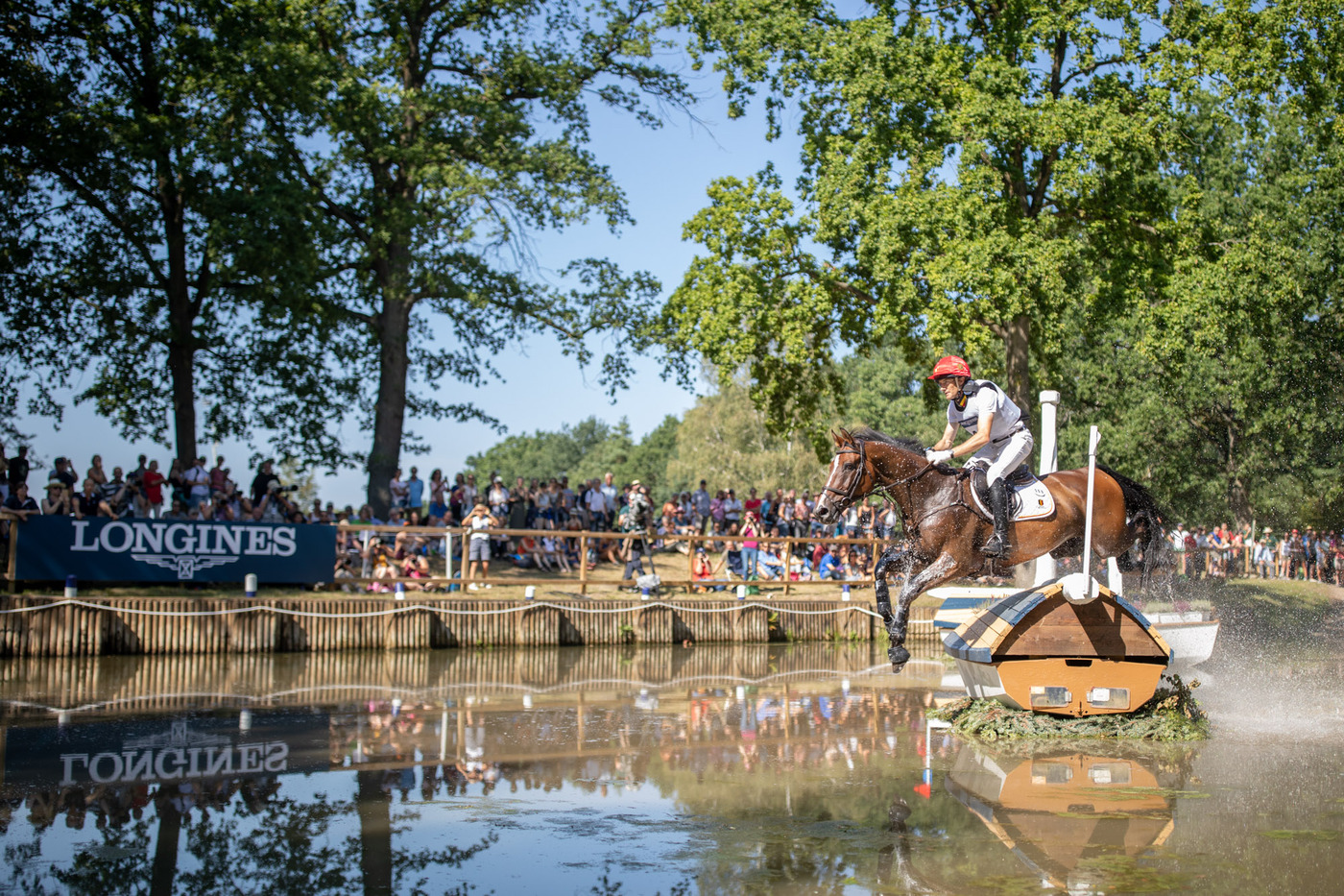 Longines Eventing Event: Team Germany claimed the 2019 Longines FEI Eventing European Championships crown in Luhmühlen 1
