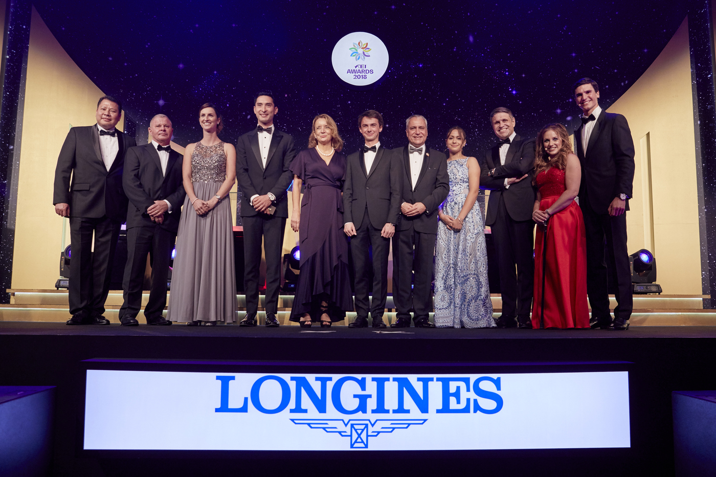 Longines Show Jumping Event: Longines celebrates its long-lasting connection with the equestrian world at the 2018 FEI Awards 3