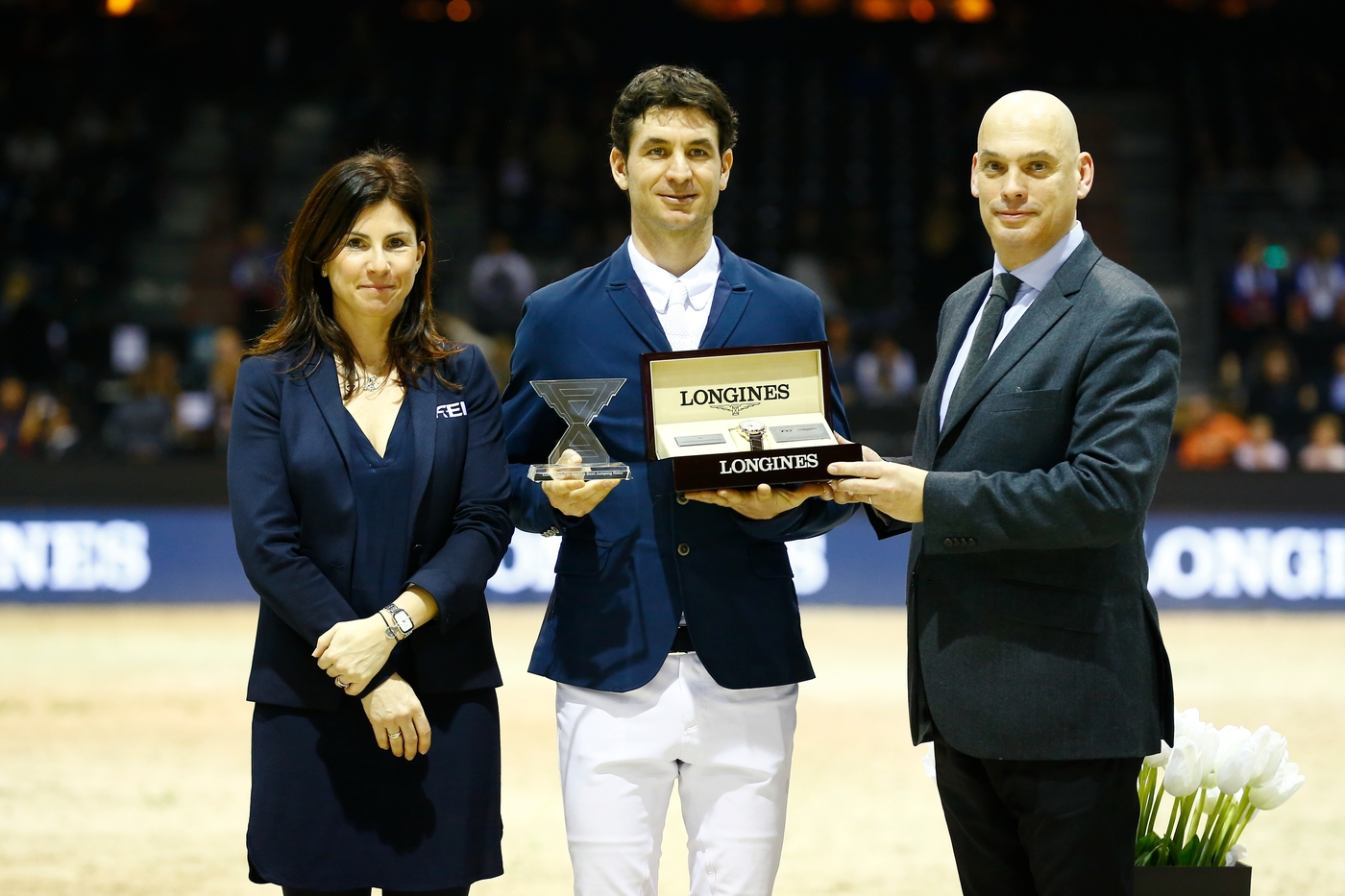 Longines Show Jumping Event: Daniel Deusser and Tobago Z claimed stunning victory at the Longines FEI Jumping World Cup™ leg in Bordeaux 3
