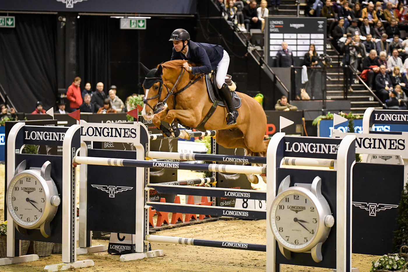 Longines Show Jumping Event: Four days of exciting competitions and exceptional performances for the Longines CSI Basel 2020 1