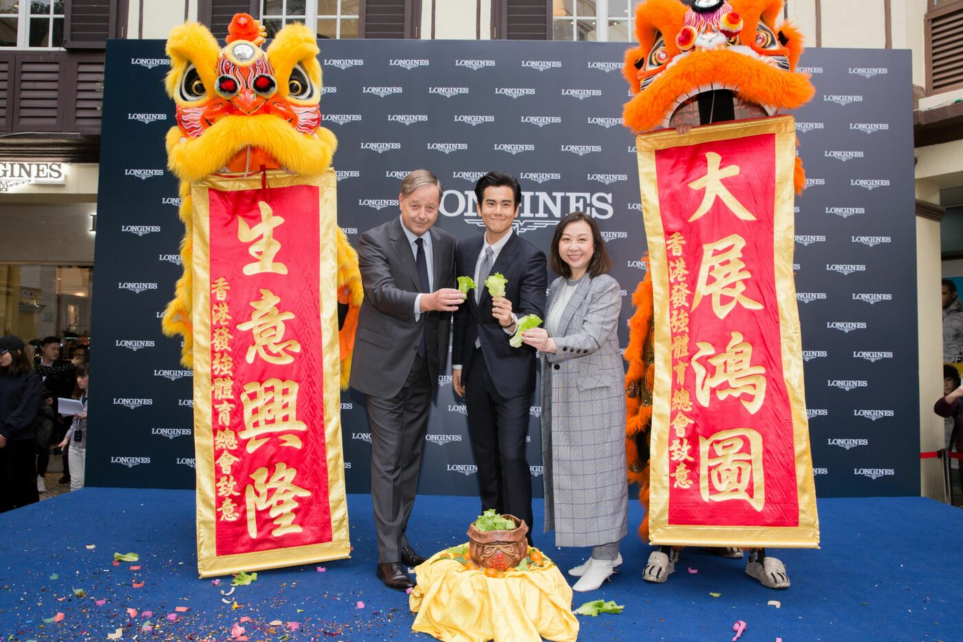Longines Corporate Event: Grand opening of Longines Flagship Boutique and Super Heritage Corner in Macau S.A.R., China in presence of Eddie Peng 4