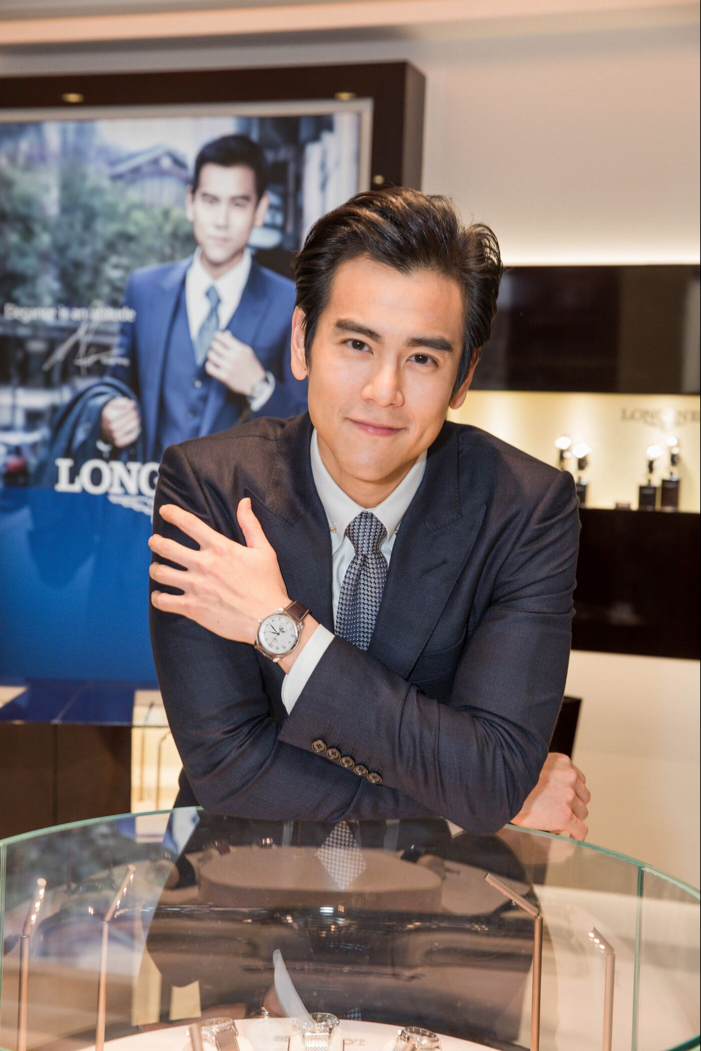 Longines Corporate Event: Grand opening of Longines Flagship Boutique and Super Heritage Corner in Macau S.A.R., China in presence of Eddie Peng 1