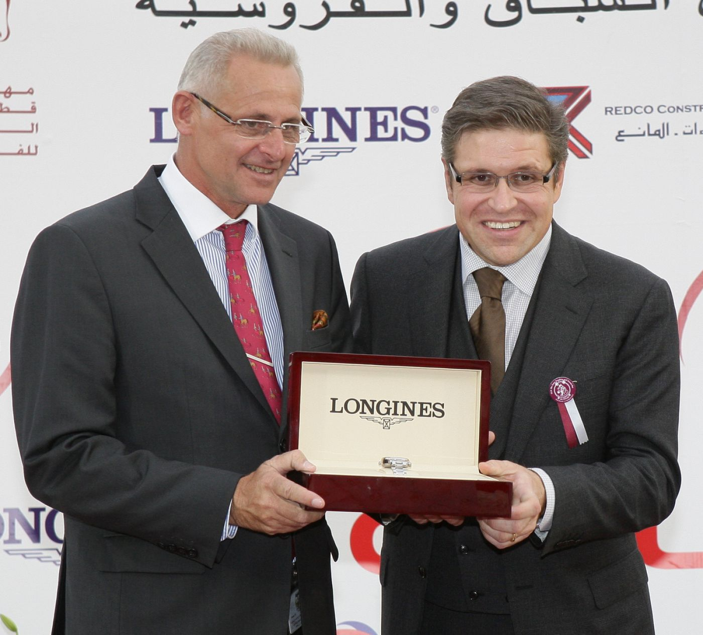 Longines Flat Racing Event: A thrilling race day in Qatar: H.H. the Emir's Sword and H.H. the Emir's Trophy presented by Longines 2