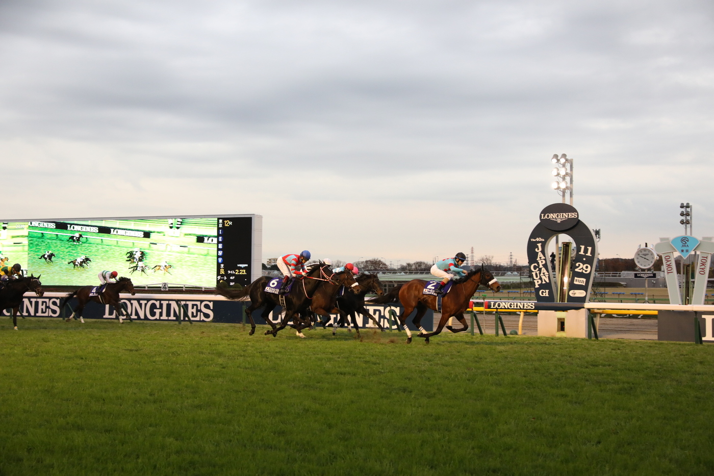 Longines Flat Racing Event: Almond Eye wins the 2020 Japan Cup in association with Longines  1