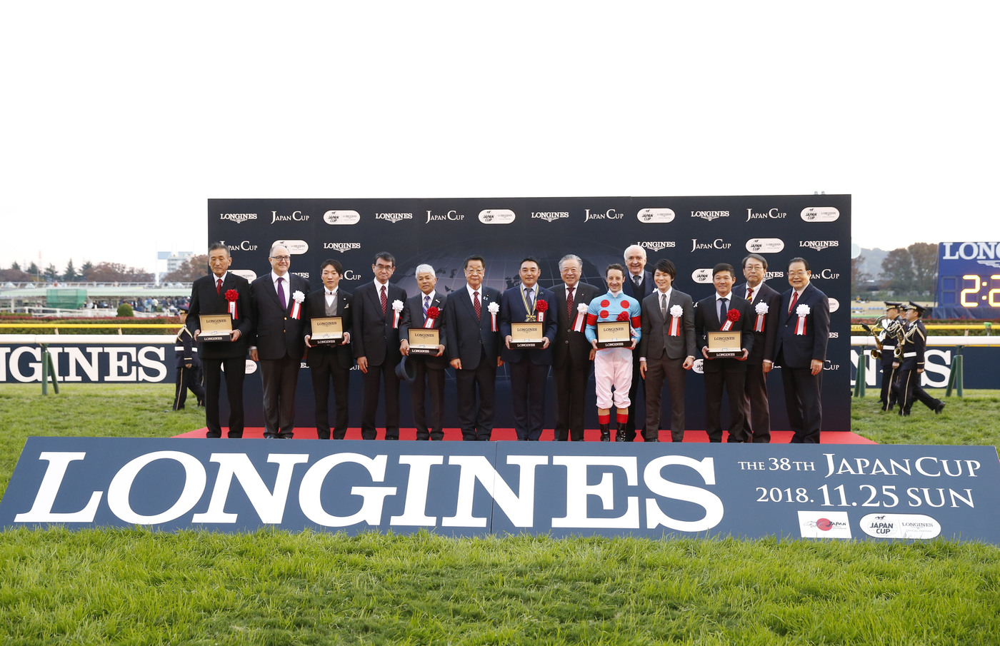 Longines Flat Racing Event: Christophe Lemaire riding Almond Eye galloped to victory in record time at the 38th edition of the Japan Cup in association with Longines  1