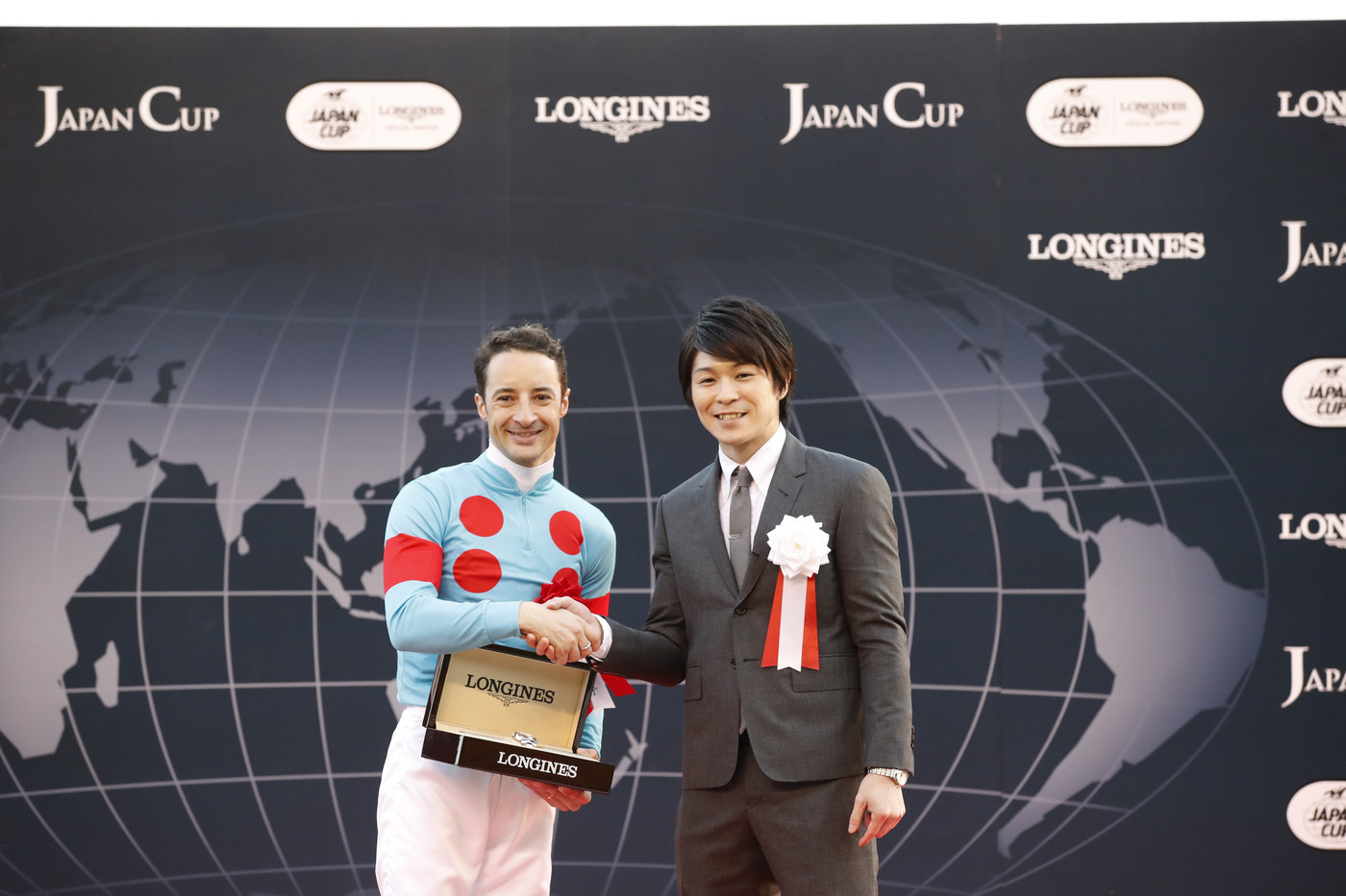 Longines Flat Racing Event: Christophe Lemaire riding Almond Eye galloped to victory in record time at the 38th edition of the Japan Cup in association with Longines  5