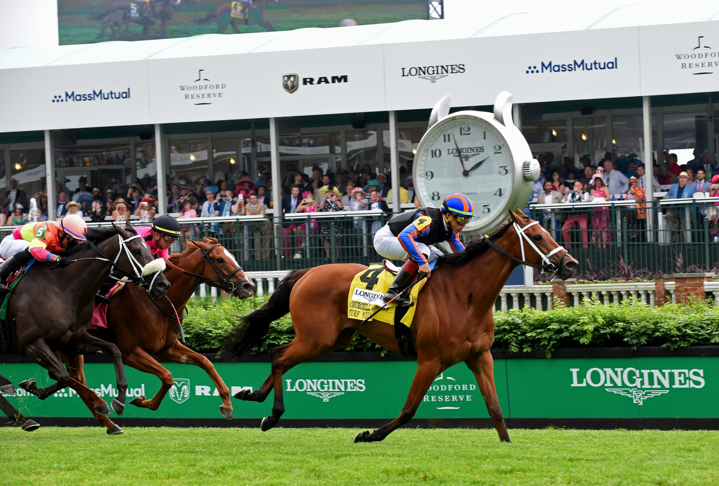 Longines Flat Racing Event: Longines Celebrates Country House's Kentucky Derby Victory 8