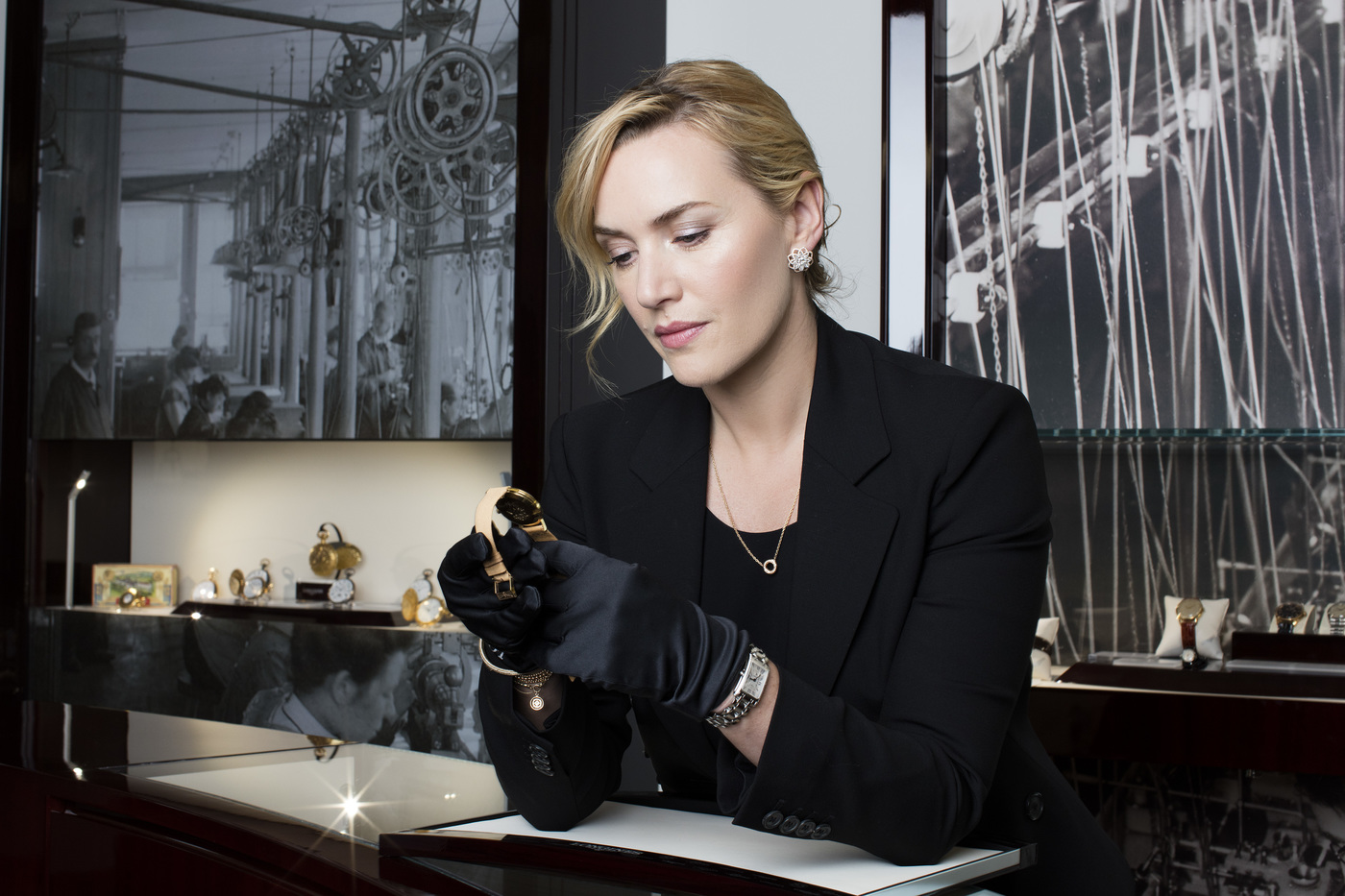 Longines Corporate Event: Longines honoured to welcome Ambassador of Elegance Kate Winslet to Saint-Imier  9