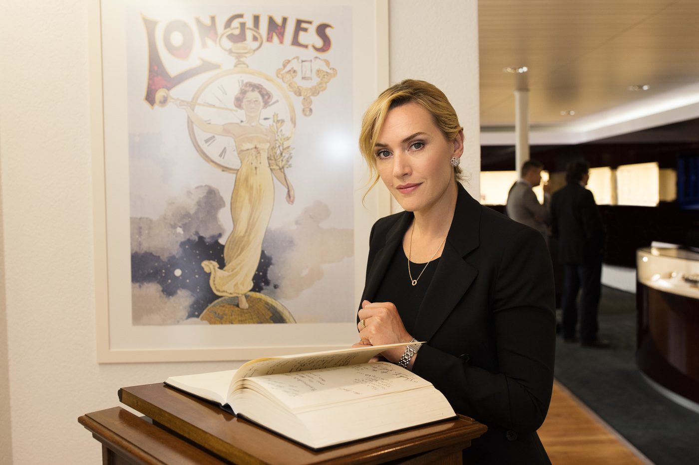 Longines Corporate Event: Longines honoured to welcome Ambassador of Elegance Kate Winslet to Saint-Imier  7