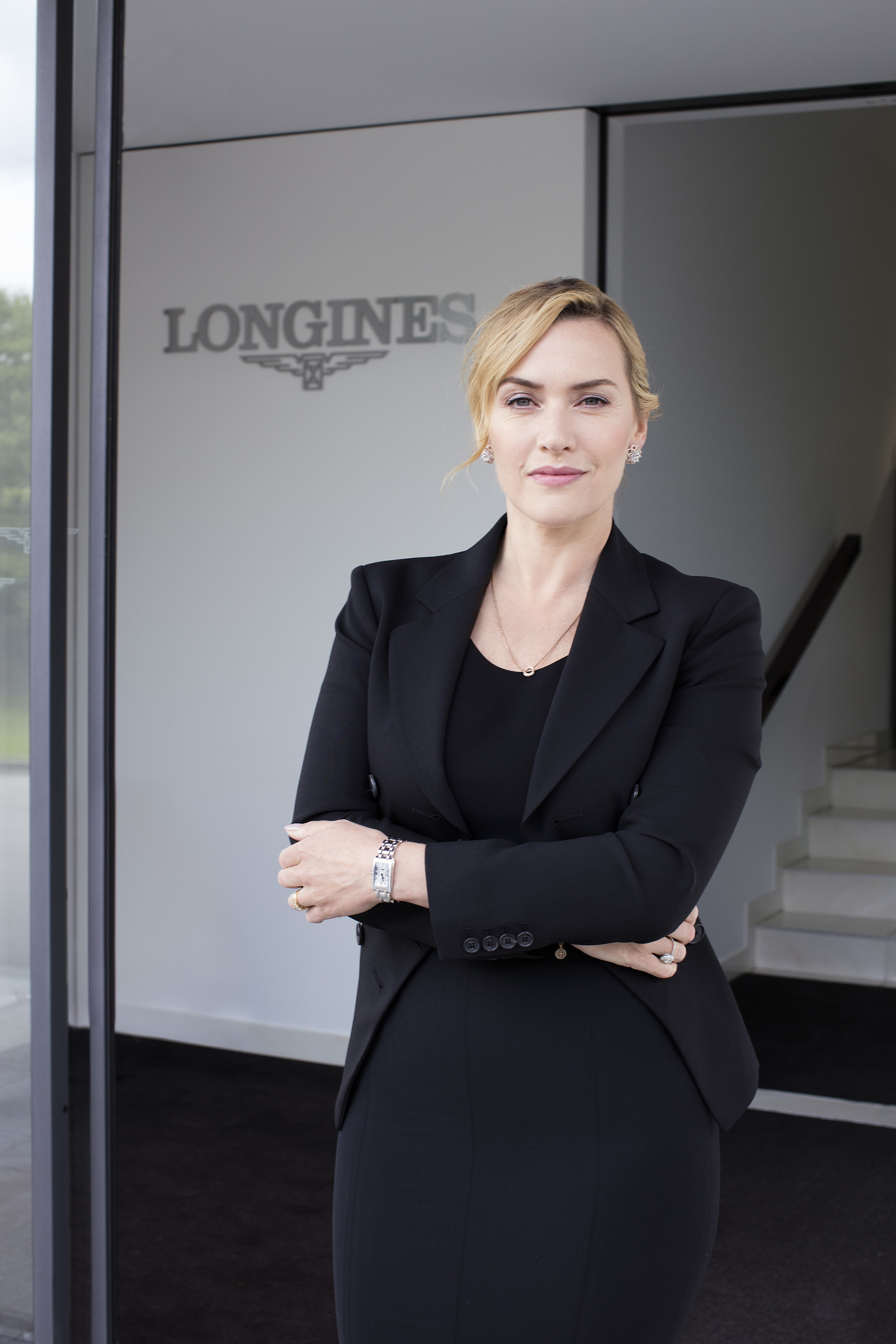 Longines Corporate Event: Longines honoured to welcome Ambassador of Elegance Kate Winslet to Saint-Imier  1