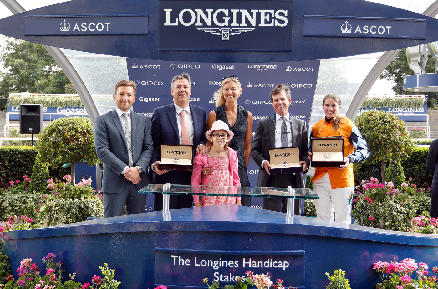 Longines Flat Racing Event: Game-changing Longines Tracking System served the King George Day  4