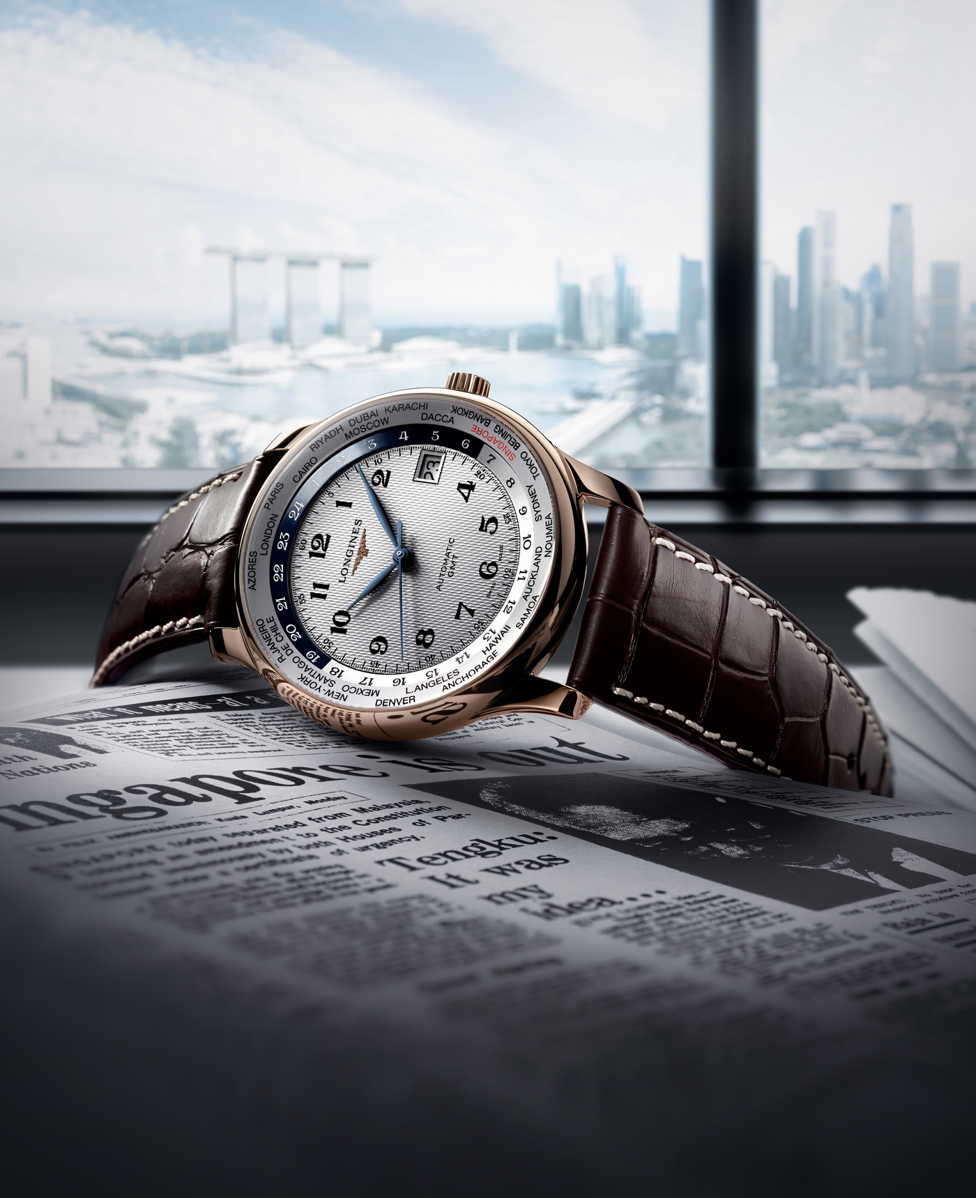 Longines Corporate Event: Longines celebrates Singapore's 50th Anniversary of Independence with an exclusive limited edition watch 2