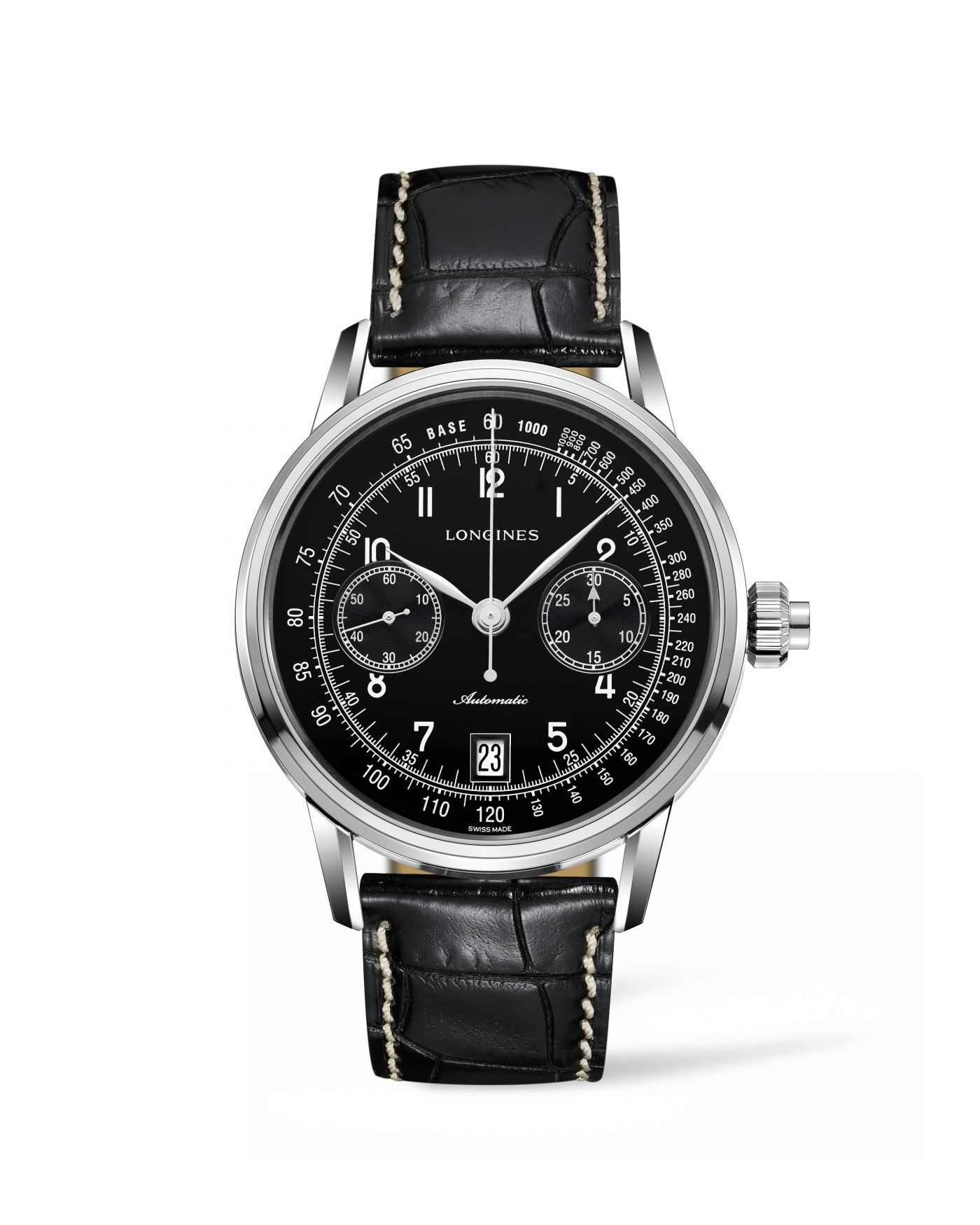 Longines The Longines Column-Wheel Single Push-Piece Chronograph  Watch 1
