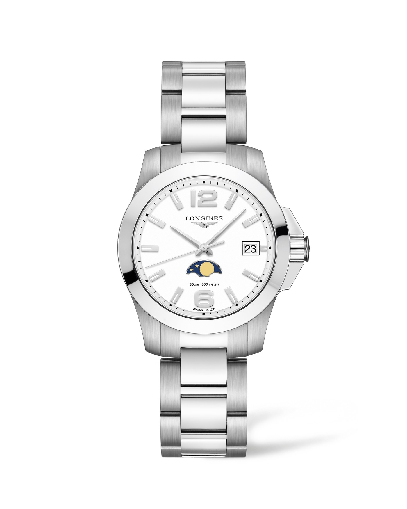 Longines Conquest Moonphase Ladies Watch 1