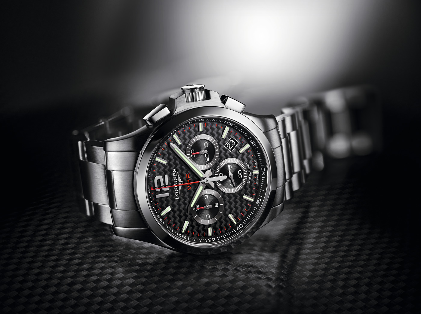 Longines Conquest V.H.P. Chronograph Watch 5