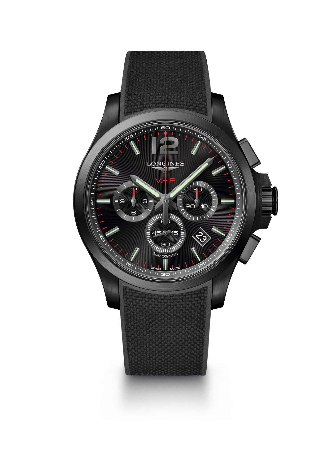 Longines Conquest V.H.P. Chronograph Watch 3