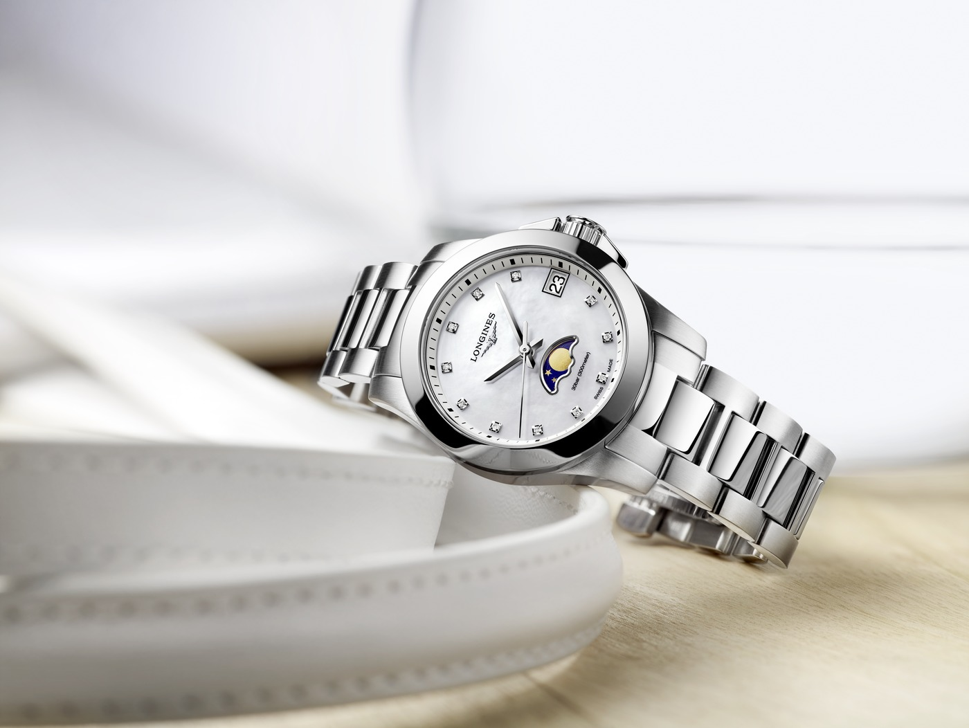 Longines Conquest Moonphase Ladies Watch 5