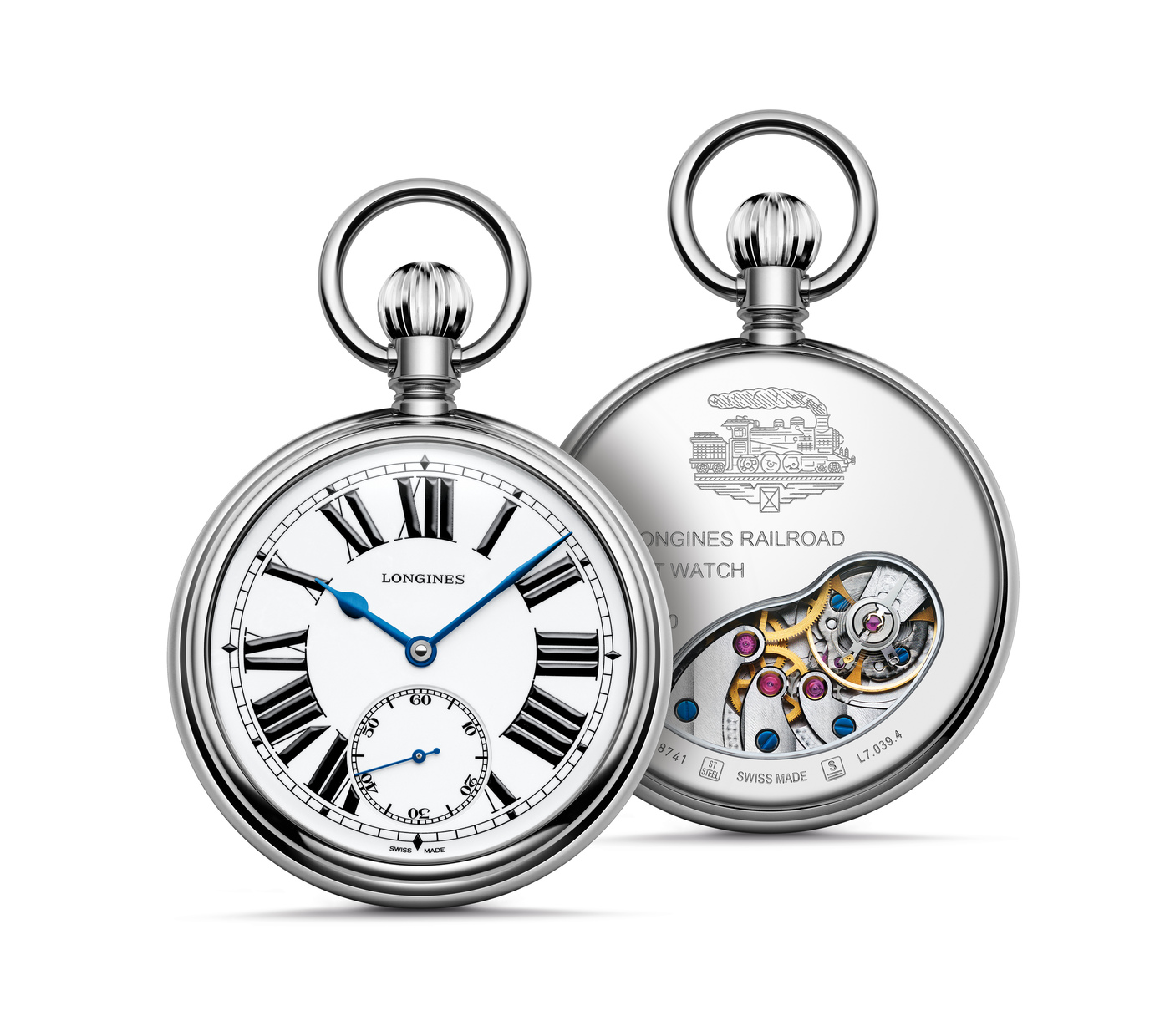 Longines The Longines RailRoad Pocket Watch Watch 1