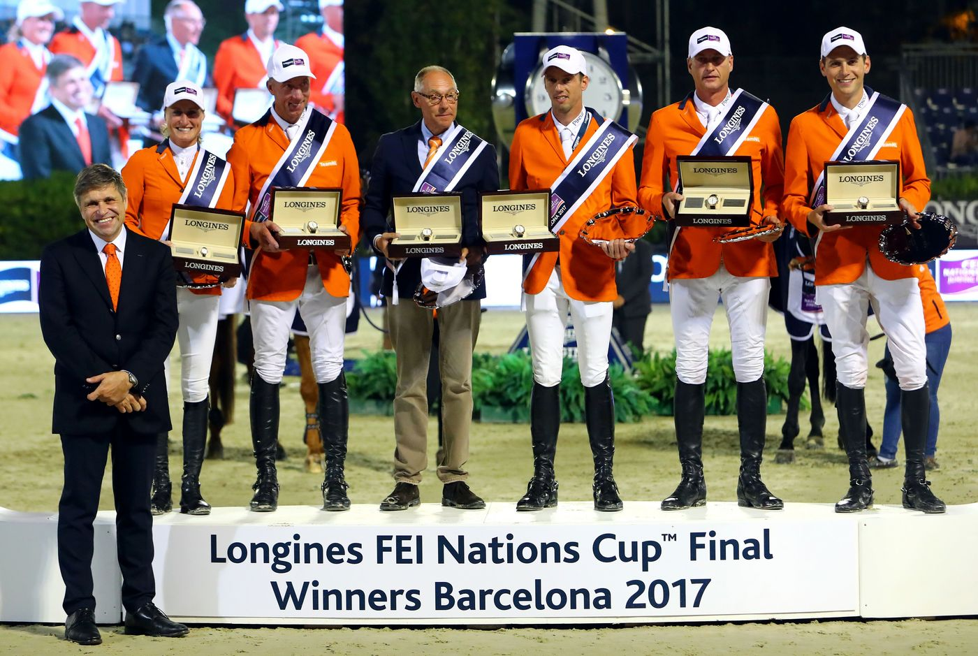 Longines Show Jumping Event: Team Netherlands claimed victory at the Longines FEI Nations Cup™ Jumping Final in Barcelona  2