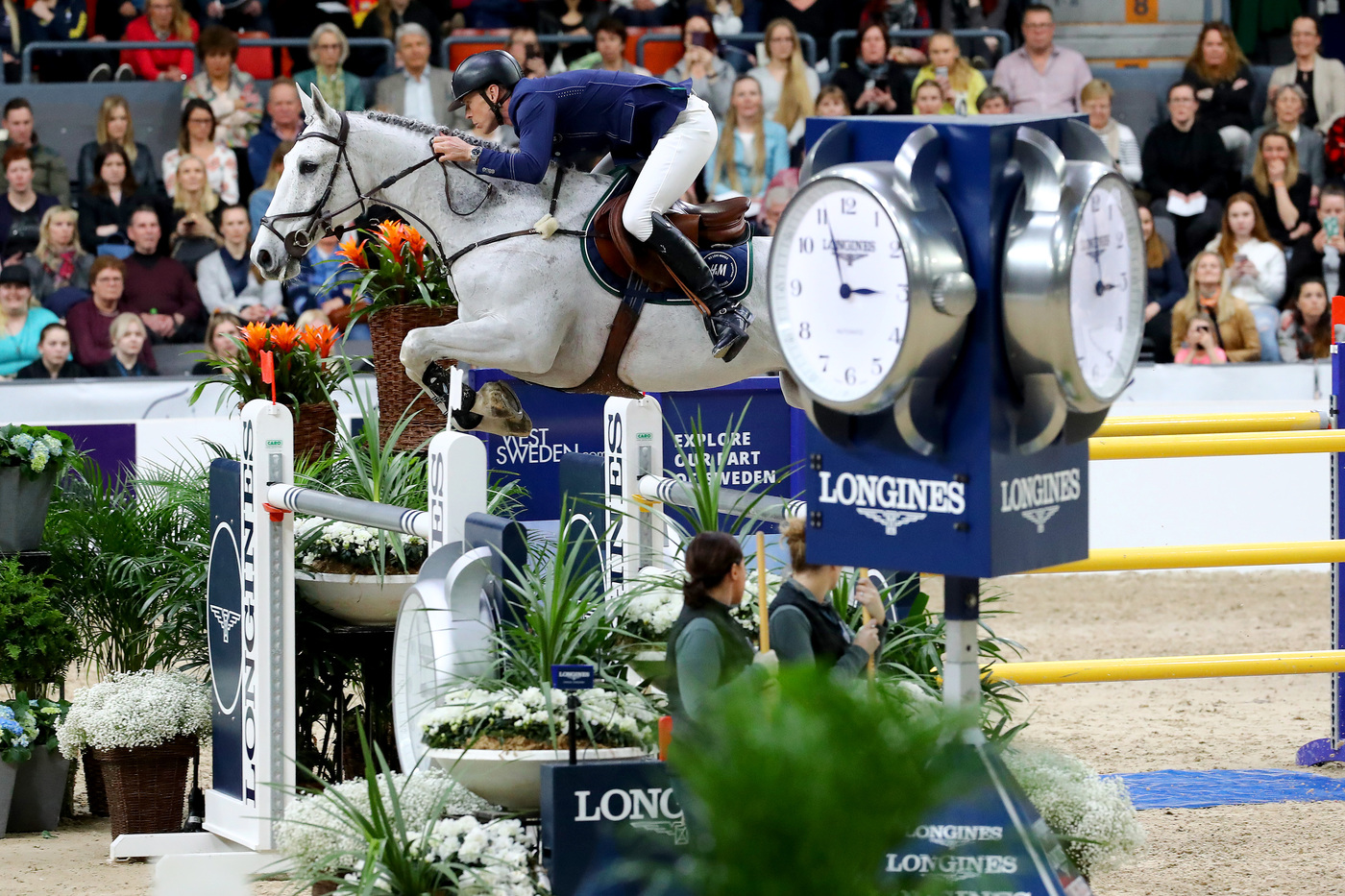 Longines Show Jumping Event: Steve Guerdat and Alamo took brilliant victory at the 2019 Longines FEI Jumping World CupTM Final 6