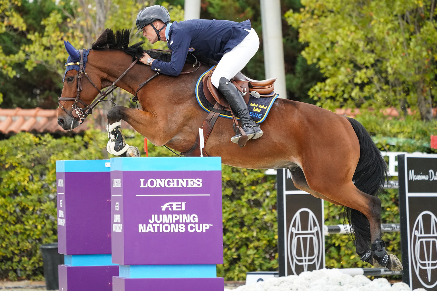 Longines Equestrian Event: Thrilling sports performances and emotional moments at the Longines FEI Jumping Nations CupTM Final with Longines Ambassador of Elegance Simon Baker 7