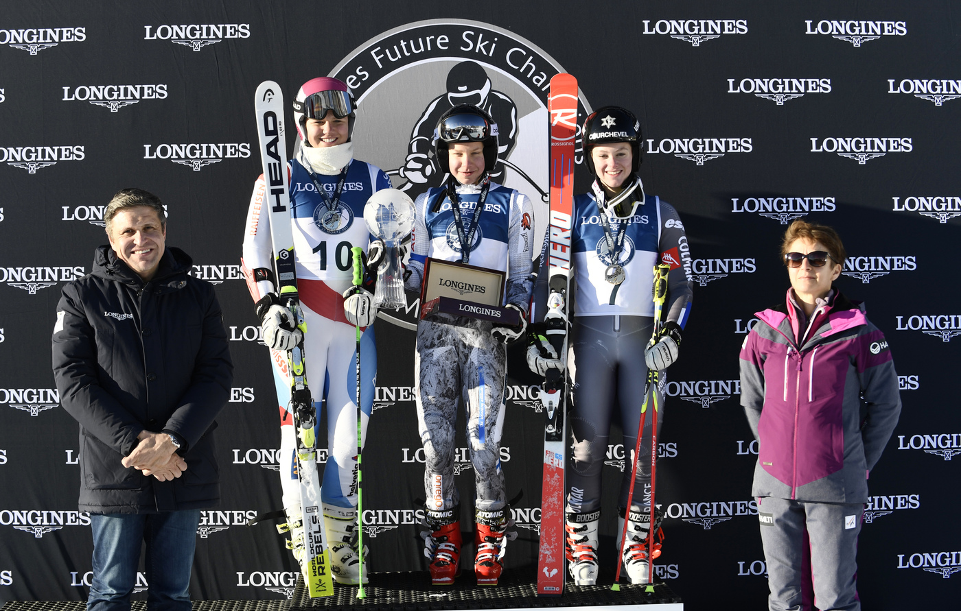 Longines Alpine Skiing Event: LONGINES FUTURE SKI CHAMPIONS - THE BEST YOUNG FEMALE SKIERS 30