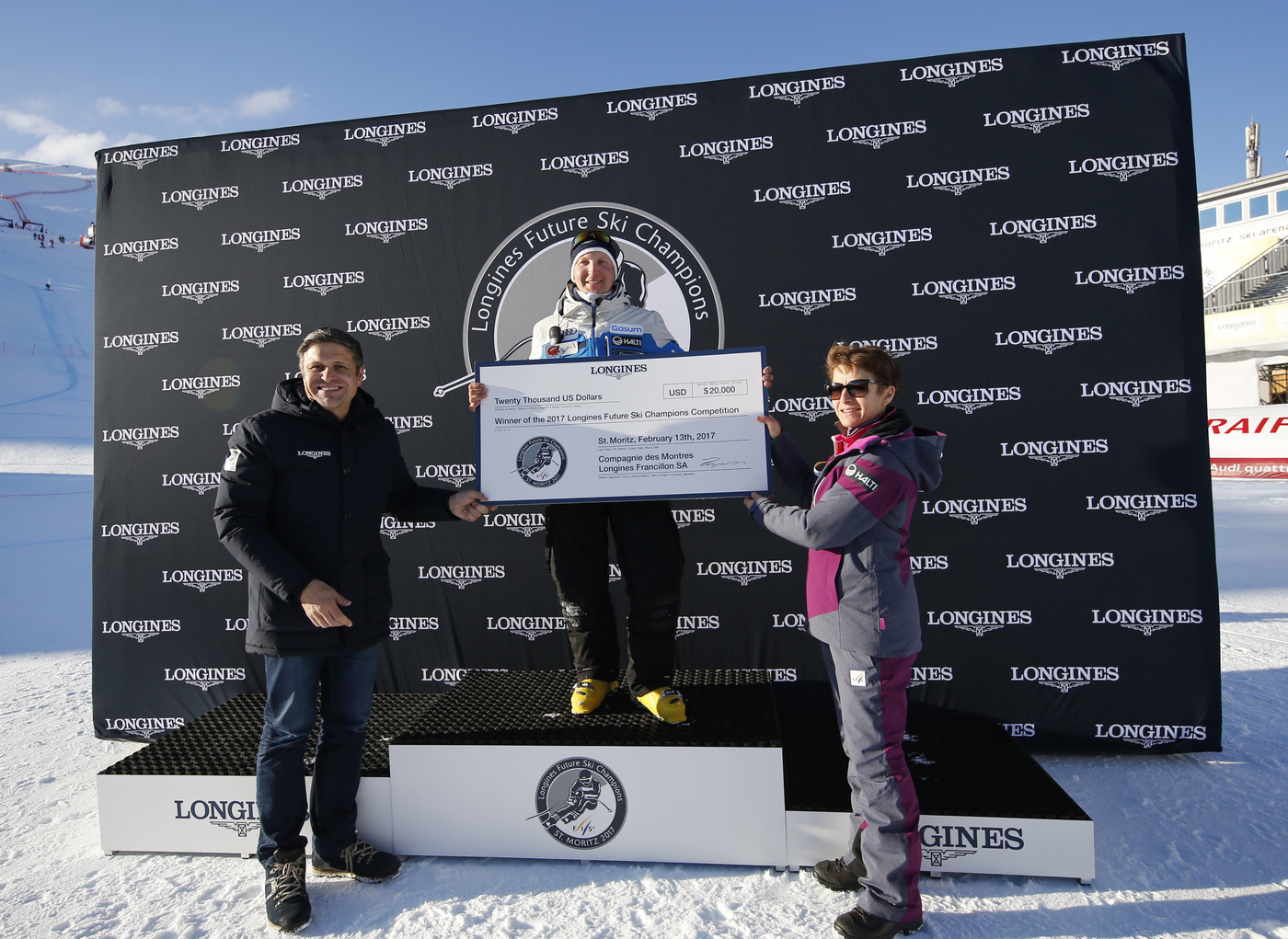Longines Alpine Skiing Event: LONGINES FUTURE SKI CHAMPIONS - THE BEST YOUNG FEMALE SKIERS 19