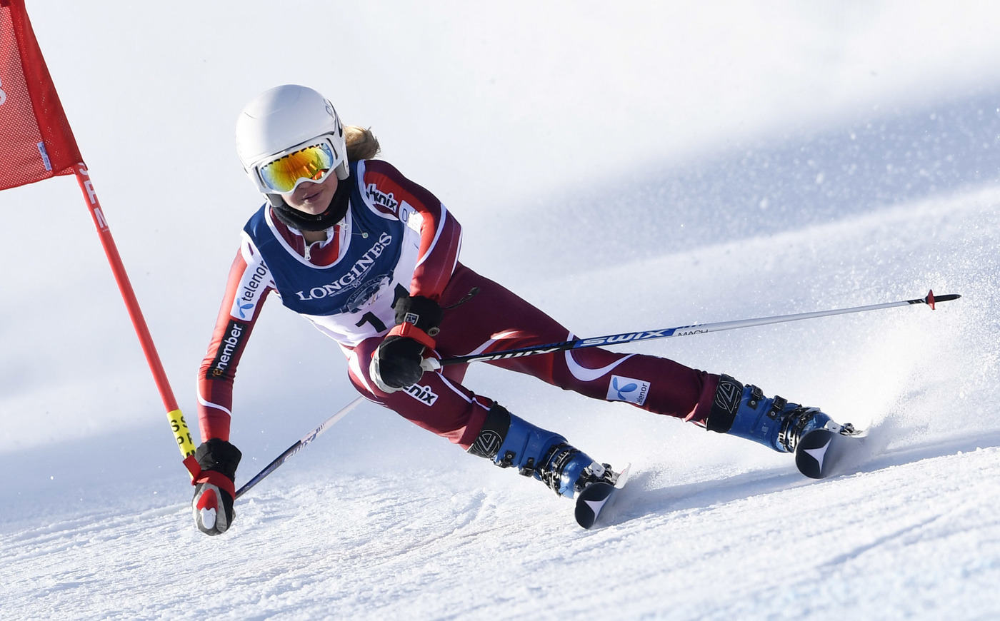 Longines Alpine Skiing Event: LONGINES FUTURE SKI CHAMPIONS - THE BEST YOUNG FEMALE SKIERS 1