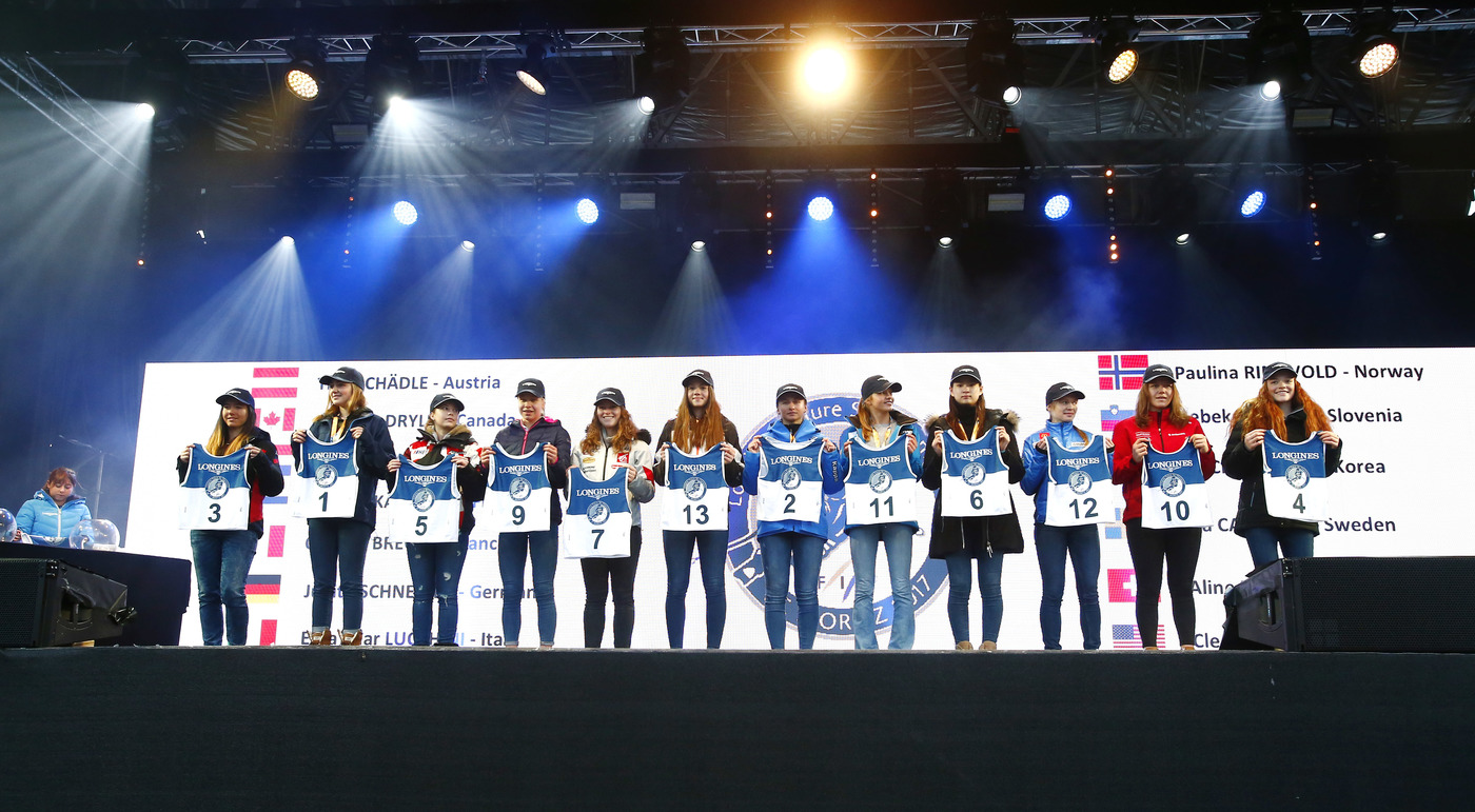 Longines Alpine Skiing Event: LONGINES FUTURE SKI CHAMPIONS - THE BEST YOUNG FEMALE SKIERS 23