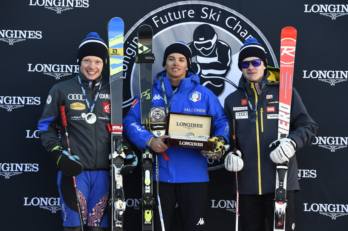 Longines Alpine Skiing Event: Longines Future Ski Champions : The best international young skiers faced off during the FIS Alpine World Cup Finals   23