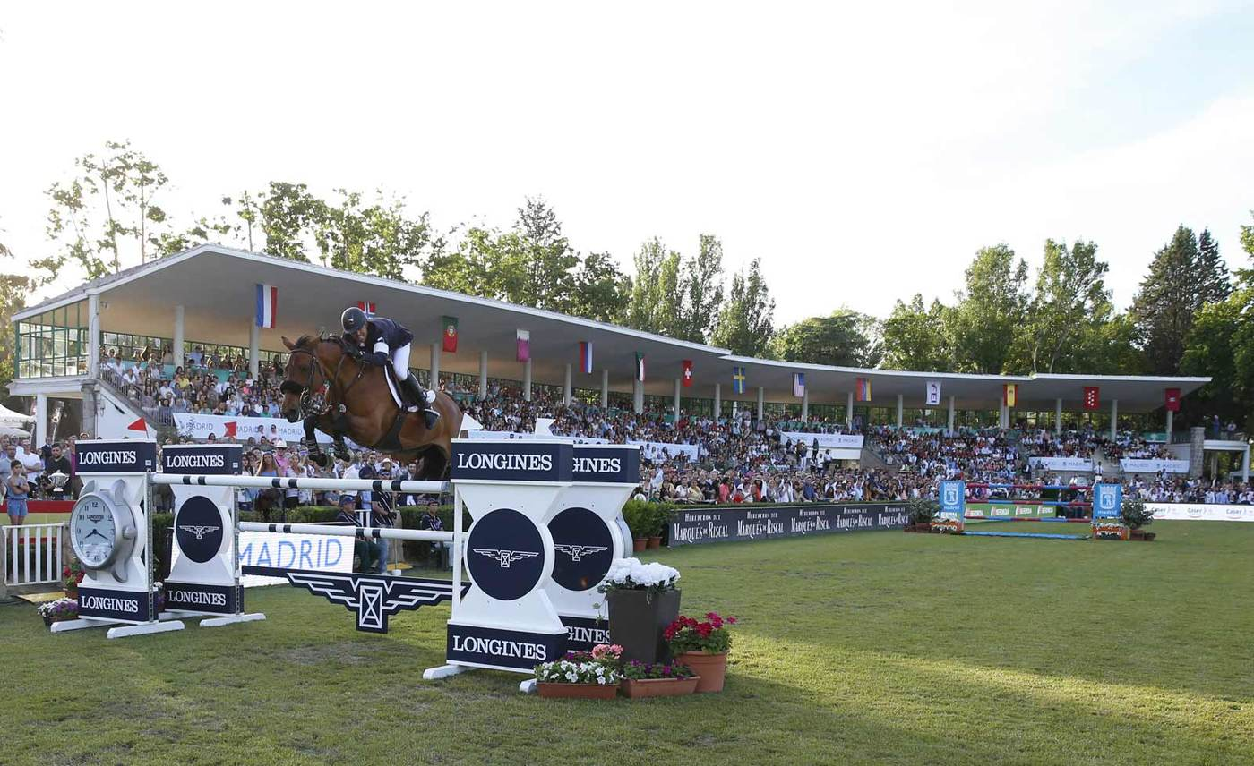 Longines Show Jumping Event: The Spanish leg of the 2017 Longines Global Champions Tour was won by Kent Farrington 2