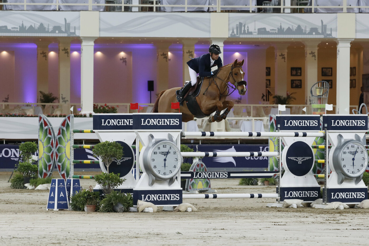 Longines Show Jumping Event: Launch of the brand new season of the Longines Global Champions Tour in Doha 2