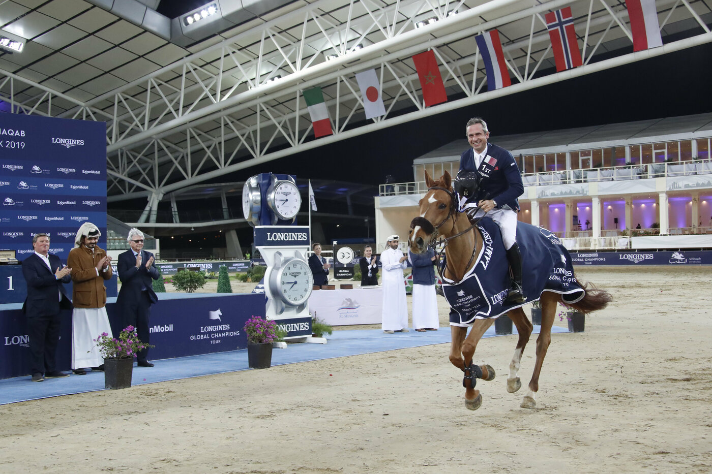 Longines Show Jumping Event: Launch of the brand new season of the Longines Global Champions Tour in Doha 5