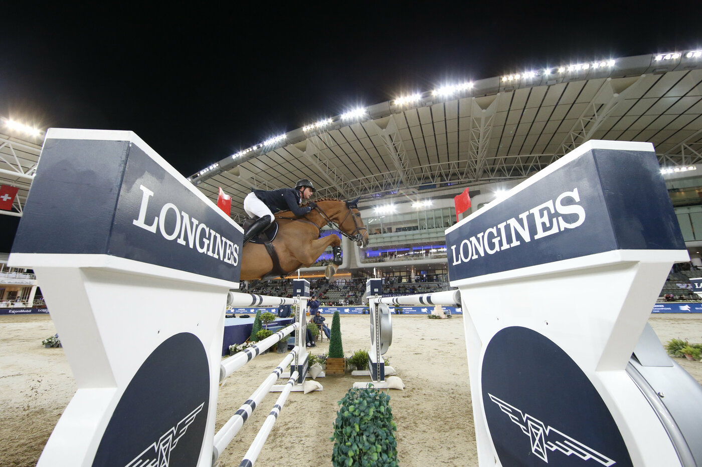 Longines Show Jumping Event: Launch of the brand new season of the Longines Global Champions Tour in Doha 4