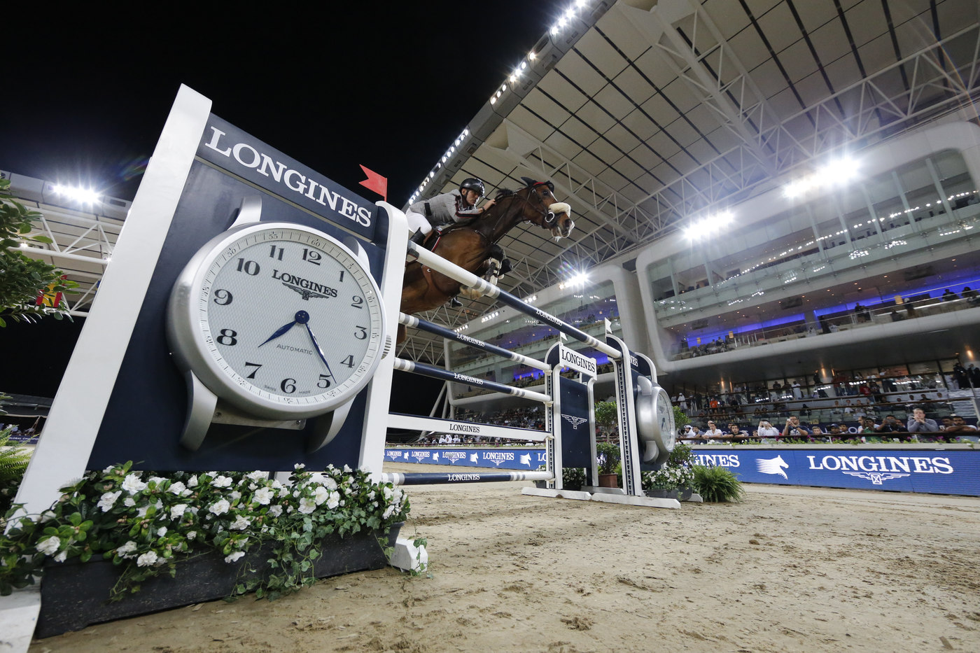 Longines Show Jumping Event: Ben Maher claimed stunning victory at the 2018 Longines Global Champions Tour of Doha 5