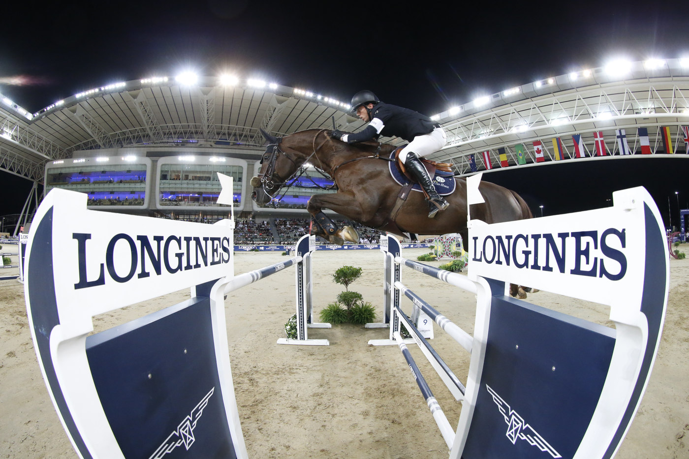 Longines Show Jumping Event: Ben Maher claimed stunning victory at the 2018 Longines Global Champions Tour of Doha 4