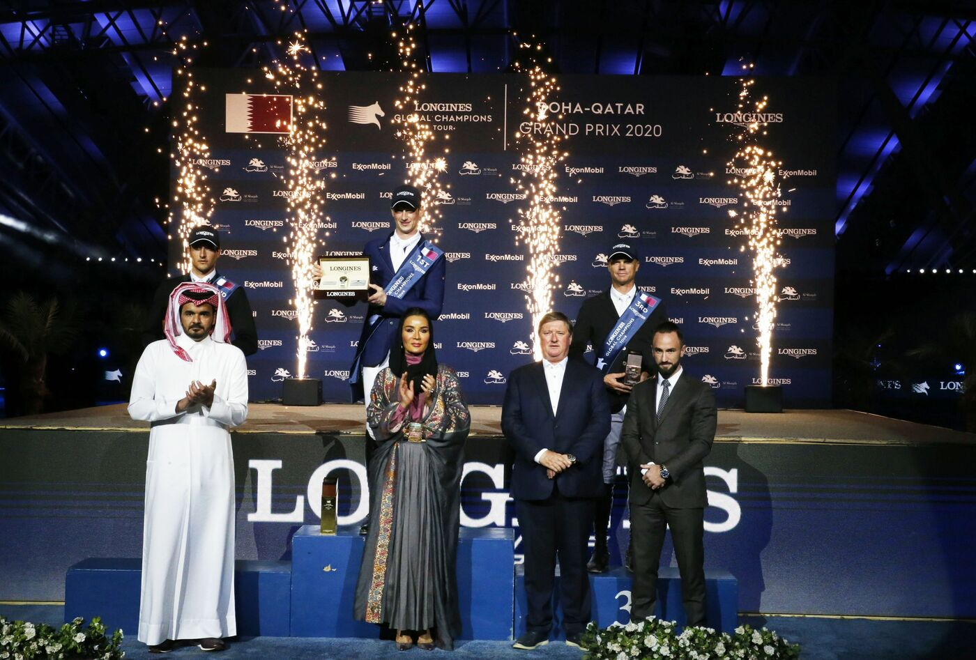 Longines Show Jumping Event: Doha hosted the world's best riders and horses for the launch of the new Longines Global Champions Tour season 5